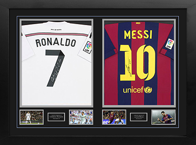 Messi-Ronaldo-framed-shirt1