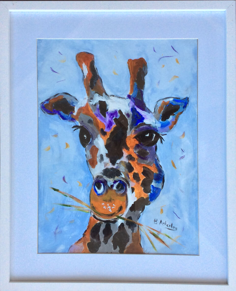 giraffe-painting-southport-local-art
